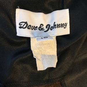 Dave & Johnny Dresses - Dave & Johnny Shimmery Cheetah Dress